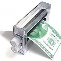 Money Printer transparente