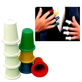 Magic Thimbles  (version multicolor)