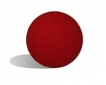 "1Balle Super Soft 10 cm / 4"" (Red)"