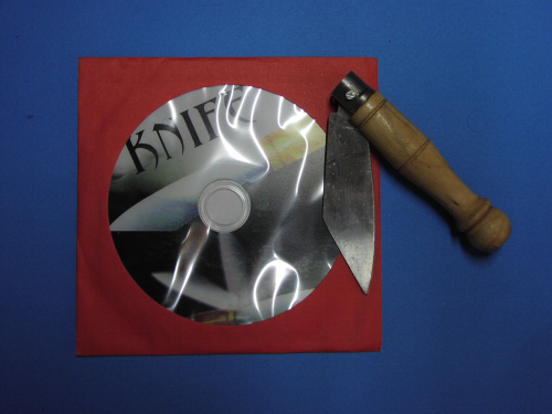 Knife + dvd