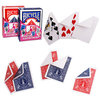 jeu bicycle 52 cartes assortie